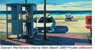 "Stewart MacFarlane ""Visit to Palm Beach"" 1989 Private collection"