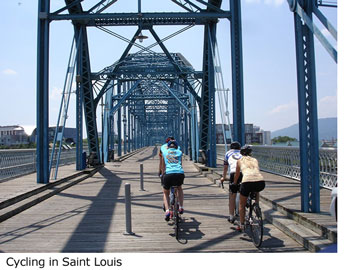 Cycling in Saint Louis