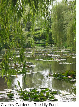 Giverny Gardens - The Lily Pond