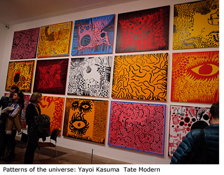 Patterns of the universe: Yayoi Kusama paintings  Tate Modern