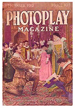 Photoplay Magazine: Front Cover - Sarah Bernhardt as Queen Elizabeth