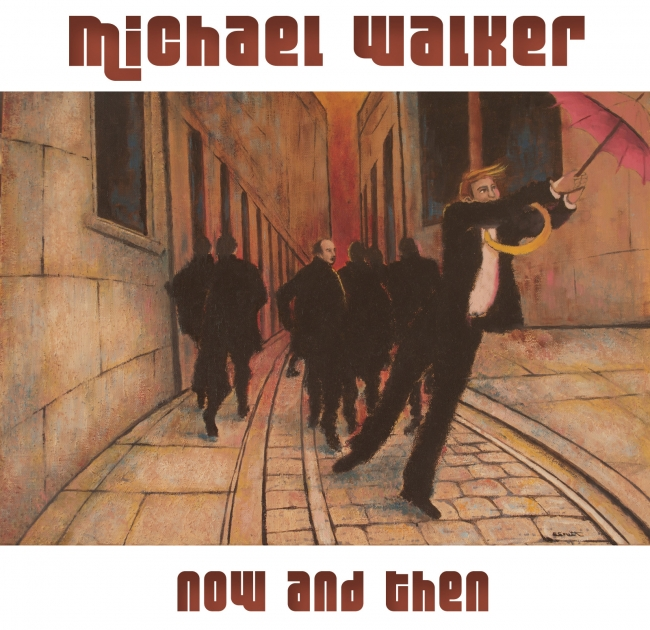 Michael Walker: Now and then; Original painting Sue Smith: Pocket of resistance