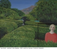 Australian artist Sue Smith - Looking in the shadows