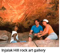Injalak Hill rock art gallery