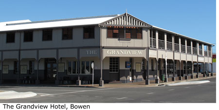 The Grandview Hotel, Bowen, Australia