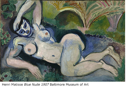 Henri Matisse Blue Nude 1907