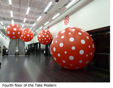 Fourth floor of Tate Modern