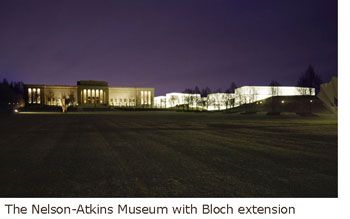 The Nelson-Atkins Museum with Bloch extension