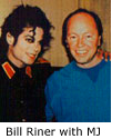 Bill Riner with Michael Jackson