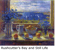 """Margaret Olley """"Rushcutter's Bay and Still Life"""""""