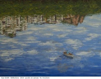 Australian artist Sue Smith - Reflections