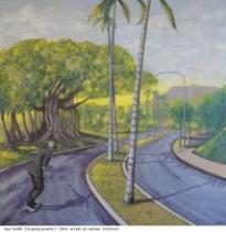 Australian artist Sue Smith - Escaping gratity I