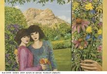 Australian artist Sue Smith - Sisters