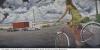 Australian artist Sue Smith - Clap of thunder, a semi roaring past